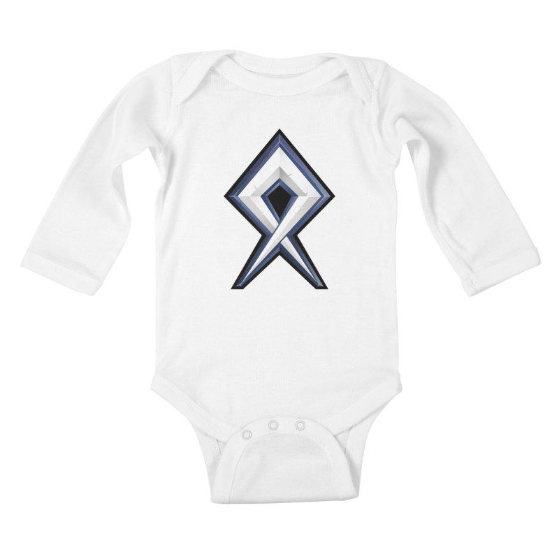 BDcraft Rune Kids Baby Longsleeve Bodysuit by BDcraft Shop