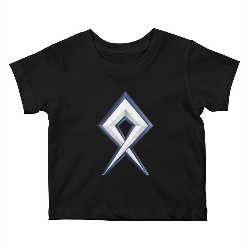 BDcraft Rune Kids Baby T-Shirt by BDcraft Shop