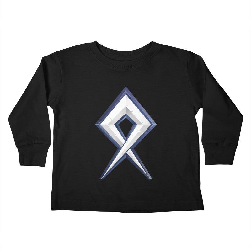 BDcraft Rune Kids Toddler Longsleeve T-Shirt by BDcraft Shop