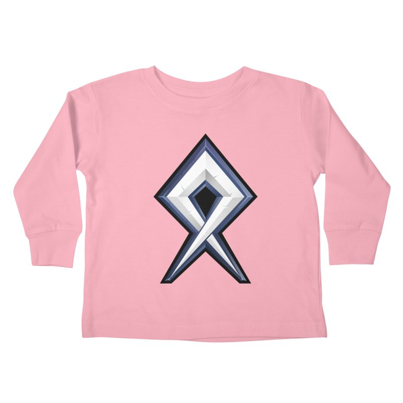 BDcraft Rune Kids Toddler Longsleeve T-Shirt by BDcraft Shop
