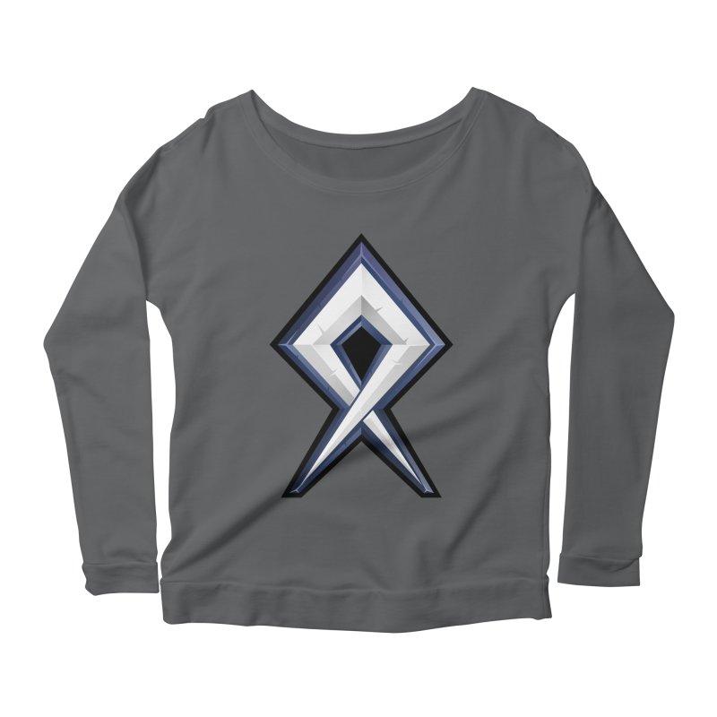 BDcraft Rune Women's Scoop Neck Longsleeve T-Shirt by BDcraft Shop