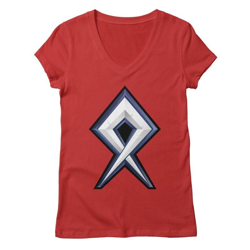 BDcraft Rune Women's Regular V-Neck by BDcraft Shop