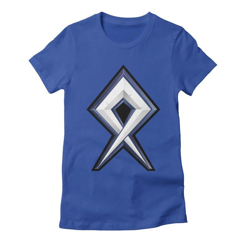 BDcraft Rune Women's Fitted T-Shirt by BDcraft Shop