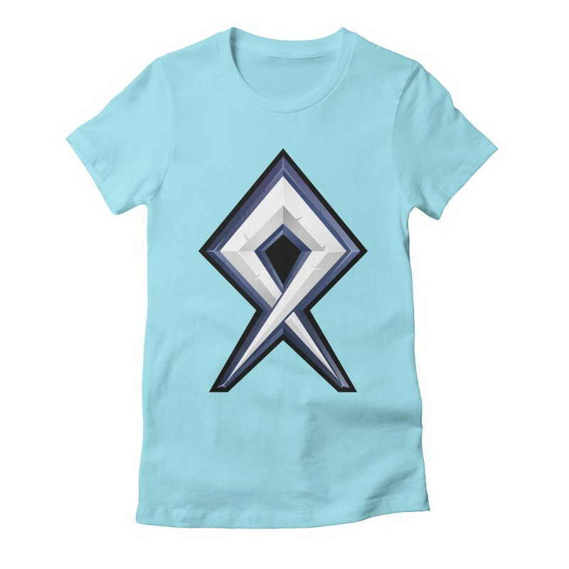 BDcraft Rune Women's Fitted T-Shirt by BDcraft Shop