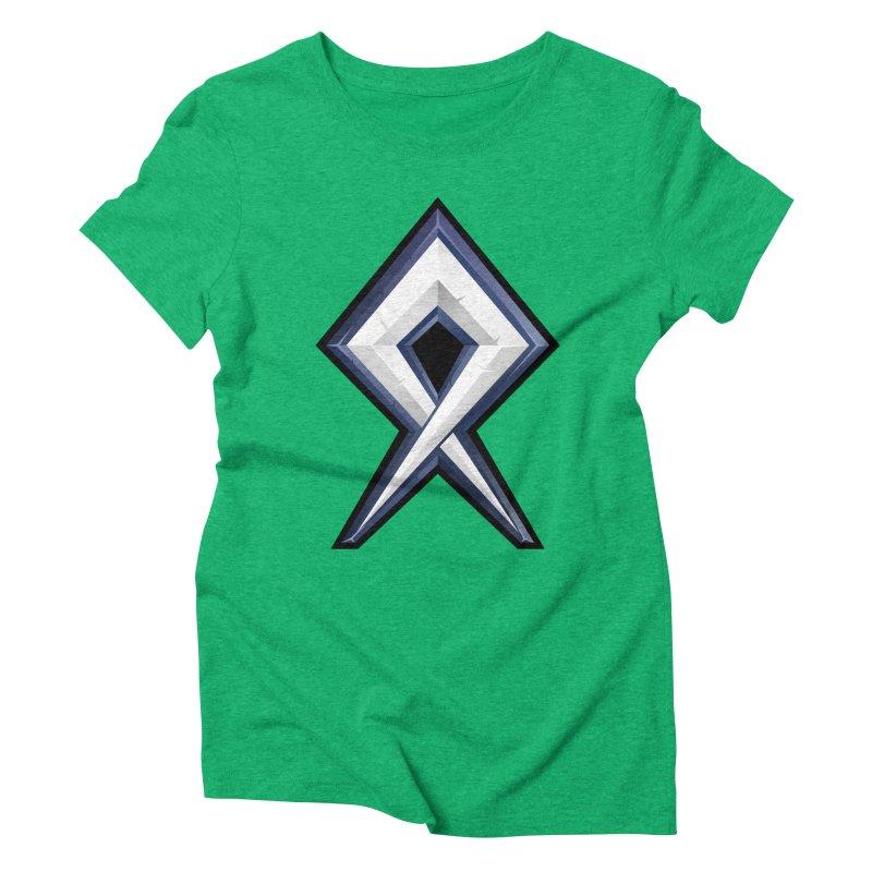 BDcraft Rune Women's Triblend T-Shirt by BDcraft Shop