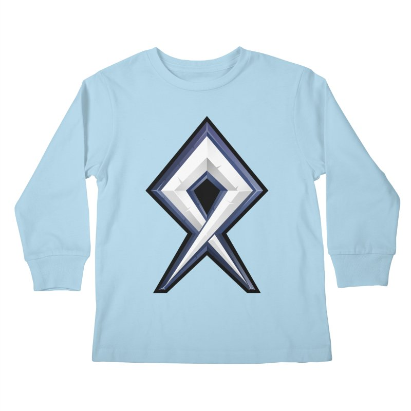 BDcraft Rune Kids Longsleeve T-Shirt by BDcraft Shop