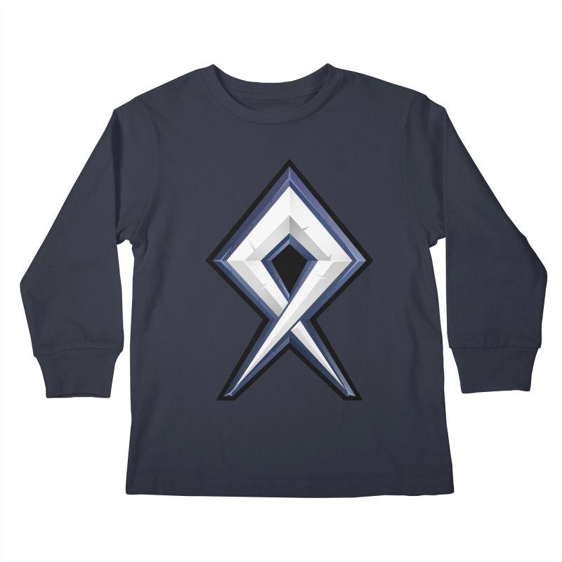 BDcraft Rune Kids Longsleeve T-Shirt by BDcraft Shop
