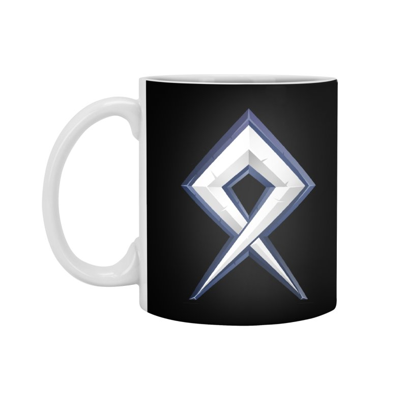 BDcraft Rune Accessories Standard Mug by BDcraft Shop