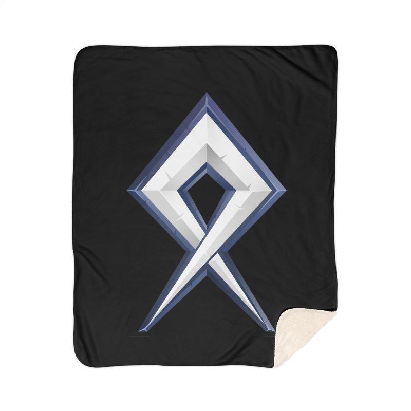 BDcraft Rune Home Sherpa Blanket Blanket by BDcraft Shop