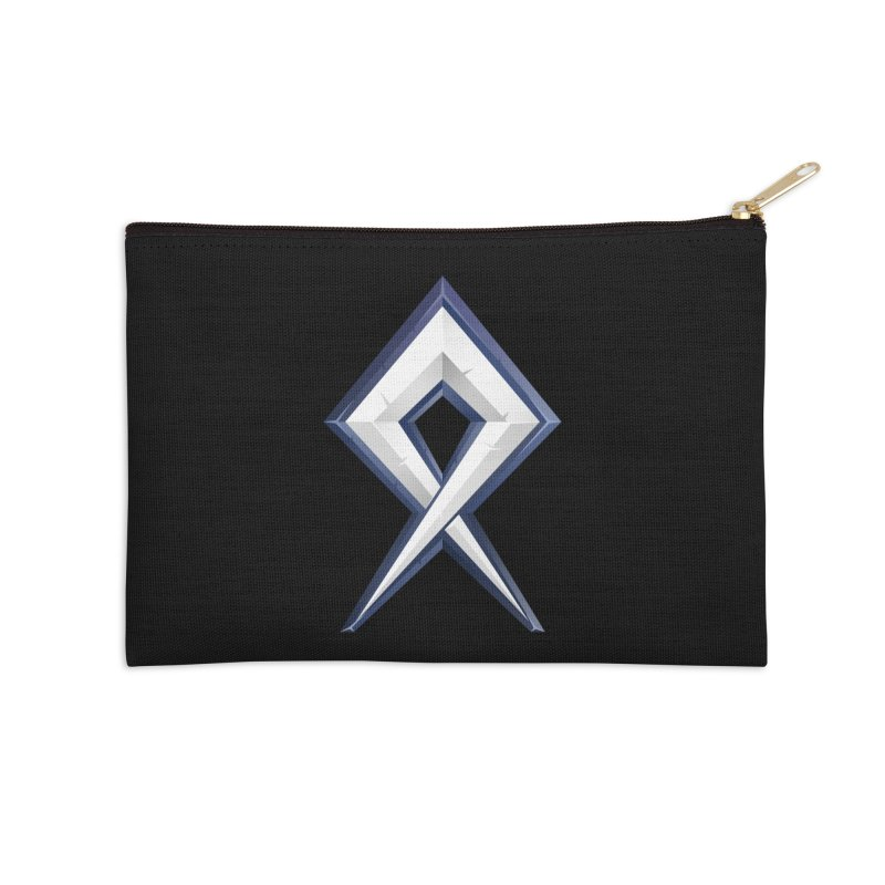 BDcraft Rune Accessories Zip Pouch by BDcraft Shop