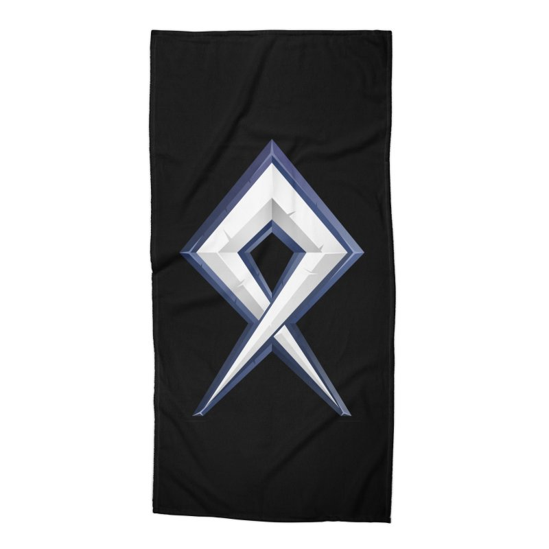BDcraft Rune Accessories Beach Towel by BDcraft Shop