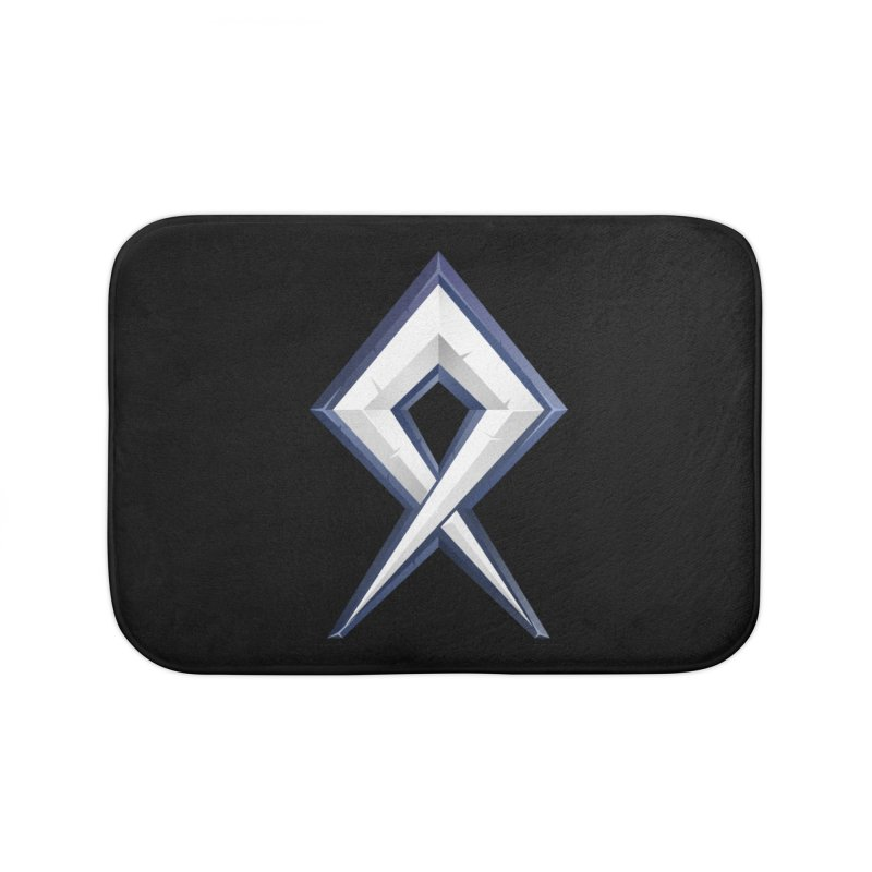 BDcraft Rune Home Bath Mat by BDcraft Shop