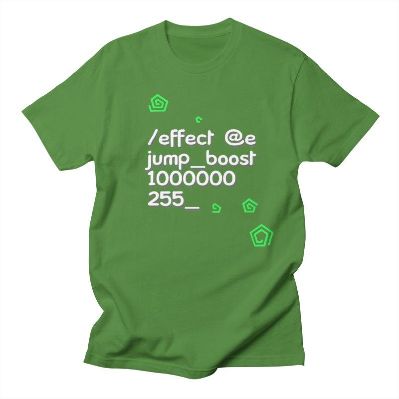 Command Disable Fall Damages Men's T-Shirt by BDcraft Shop
