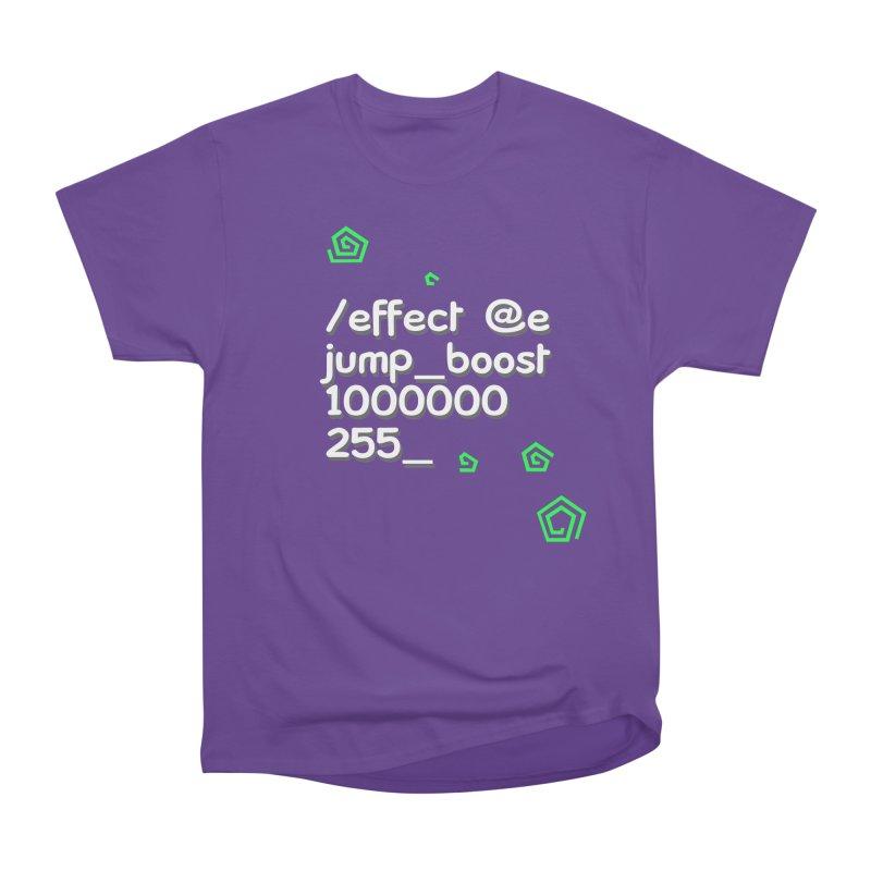 Command Disable Fall Damages Women's Heavyweight Unisex T-Shirt by BDcraft Shop