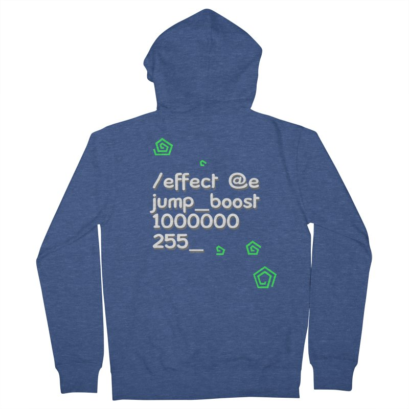Command Disable Fall Damages Men's French Terry Zip-Up Hoody by BDcraft Shop