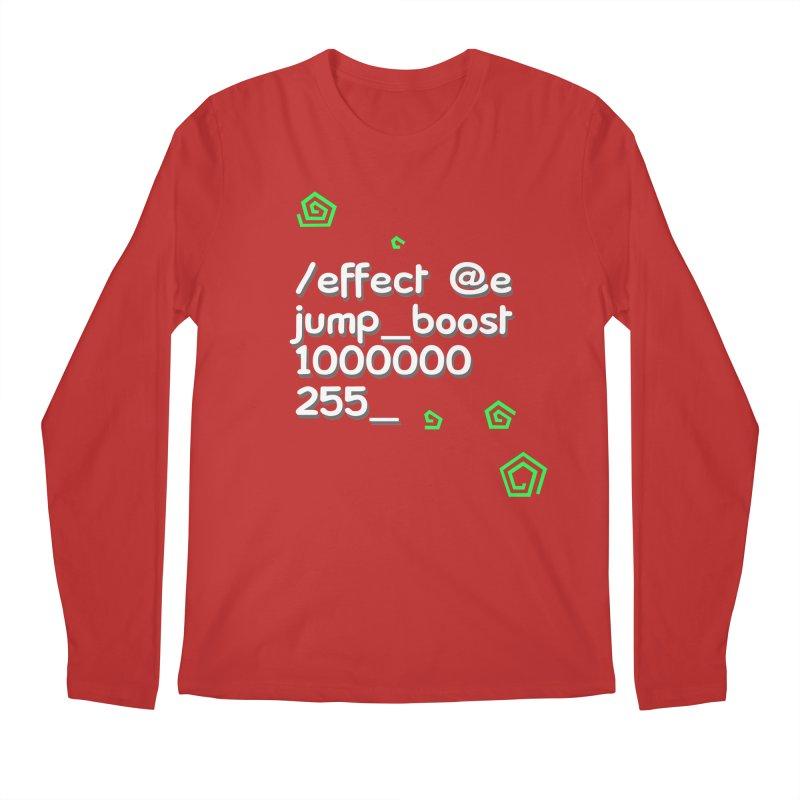 Command Disable Fall Damages Men's Regular Longsleeve T-Shirt by BDcraft Shop