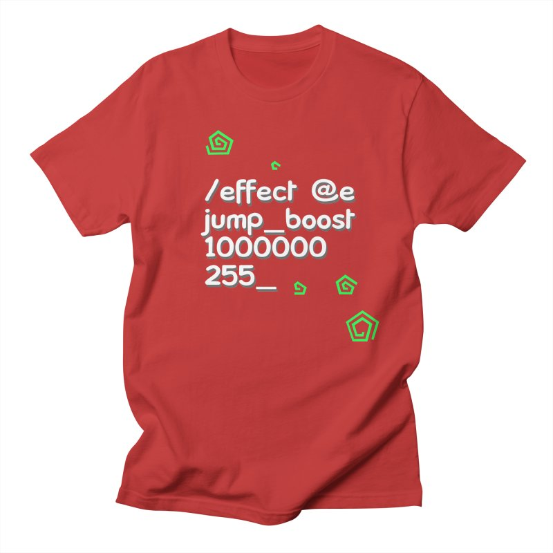 Command Disable Fall Damages Women's Regular Unisex T-Shirt by BDcraft Shop