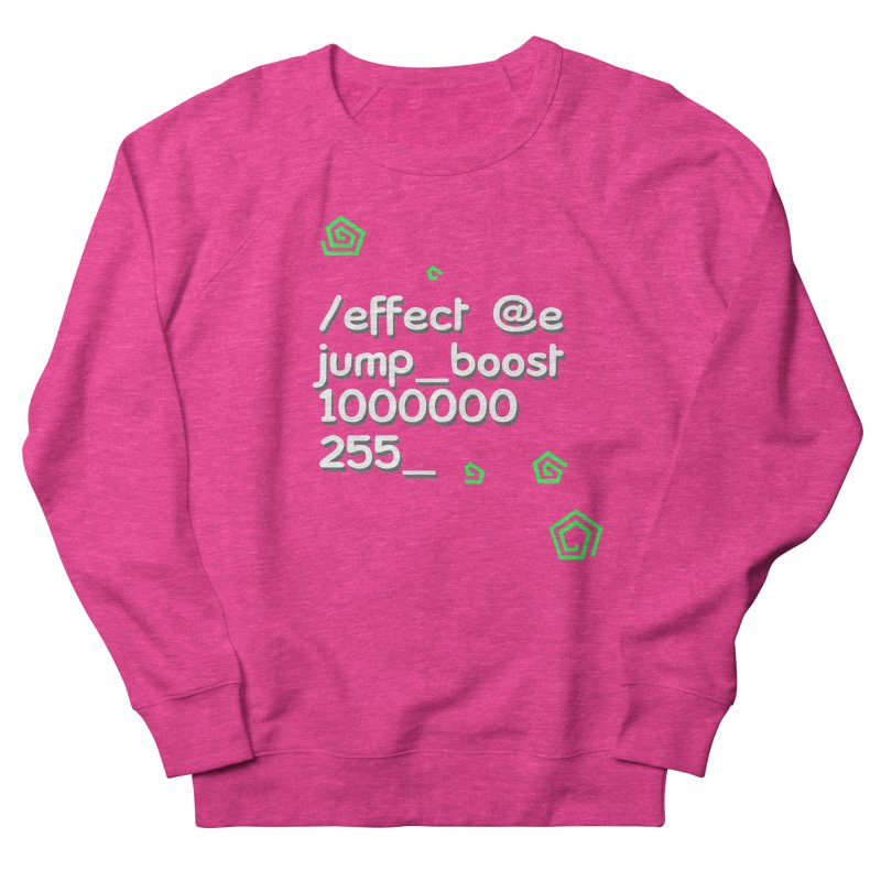 Command Disable Fall Damages Women's French Terry Sweatshirt by BDcraft Shop
