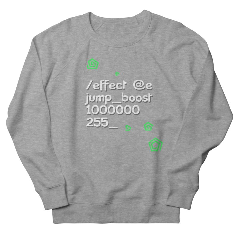 Command Disable Fall Damages Men's French Terry Sweatshirt by BDcraft Shop