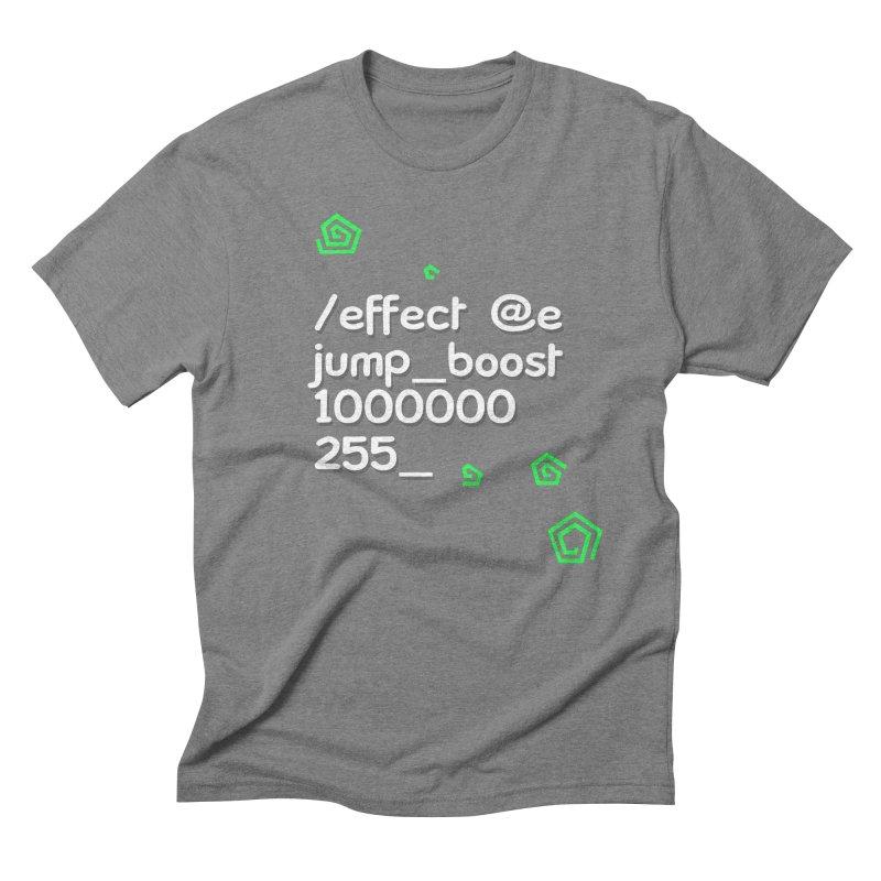 Command Disable Fall Damages Men's Triblend T-Shirt by BDcraft Shop