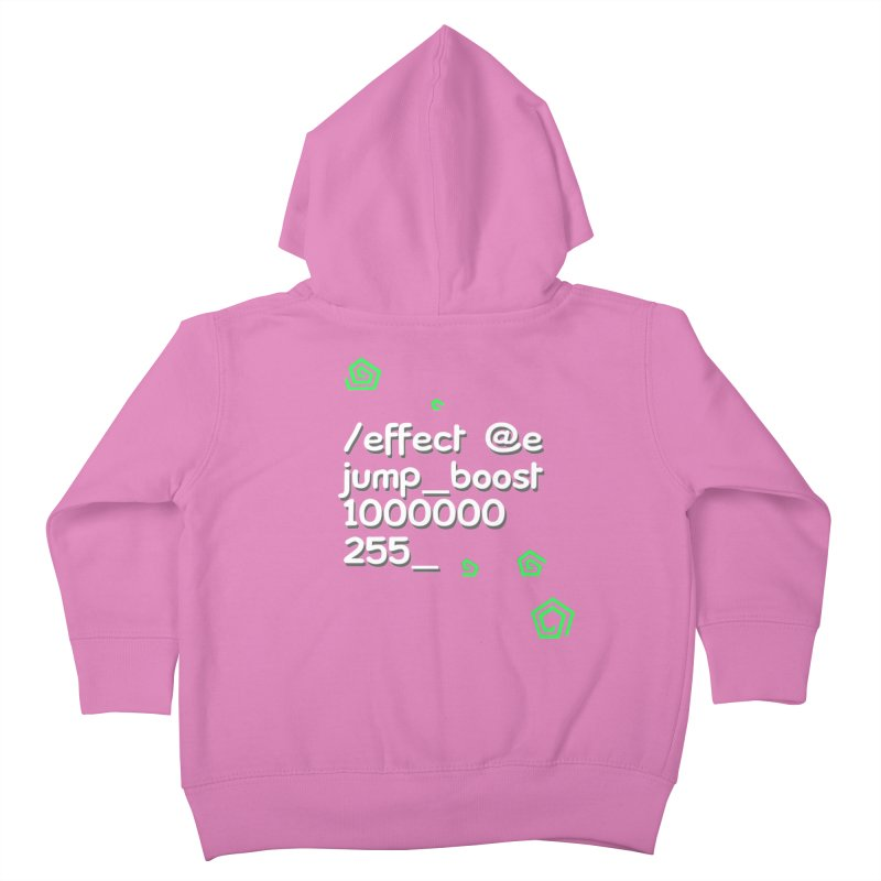 Command Disable Fall Damages Kids Toddler Zip-Up Hoody by BDcraft Shop