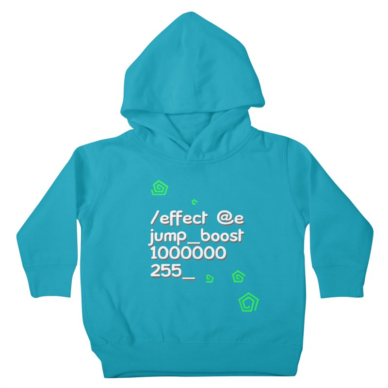 Command Disable Fall Damages Kids Toddler Pullover Hoody by BDcraft Shop