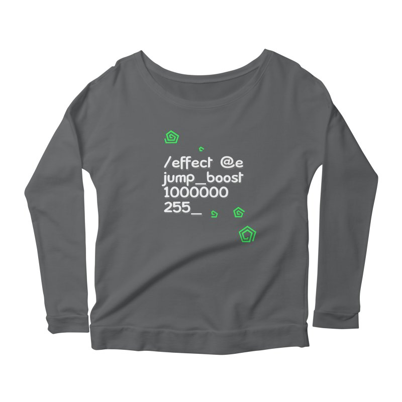 Command Disable Fall Damages Women's Scoop Neck Longsleeve T-Shirt by BDcraft Shop