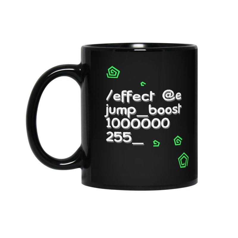 Command Disable Fall Damages Accessories Mug by BDcraft Shop