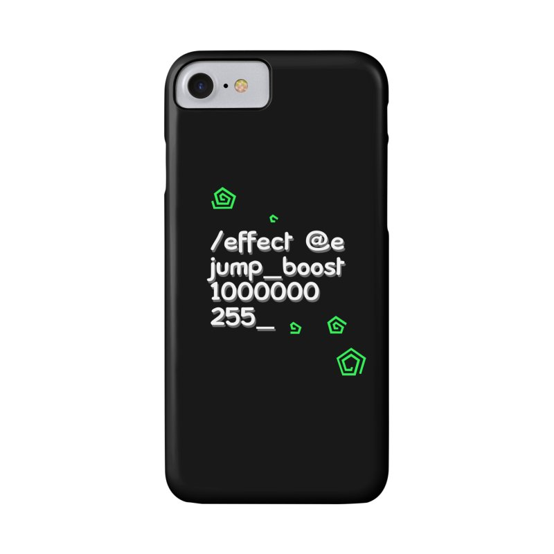 Command Disable Fall Damages Accessories Phone Case by BDcraft Shop
