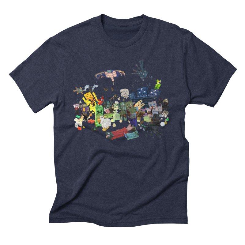 PureBDcraft family Men's Triblend T-Shirt by BDcraft Shop