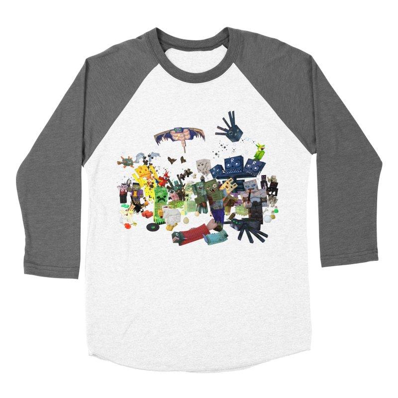 PureBDcraft family Women's Baseball Triblend Longsleeve T-Shirt by BDcraft Shop