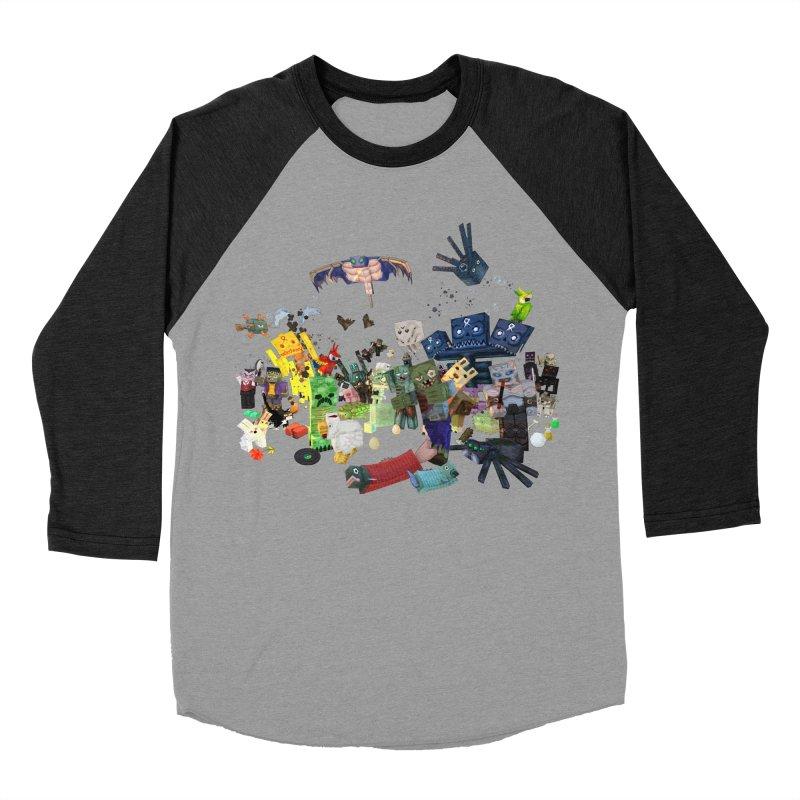 PureBDcraft family Men's Baseball Triblend Longsleeve T-Shirt by BDcraft Shop