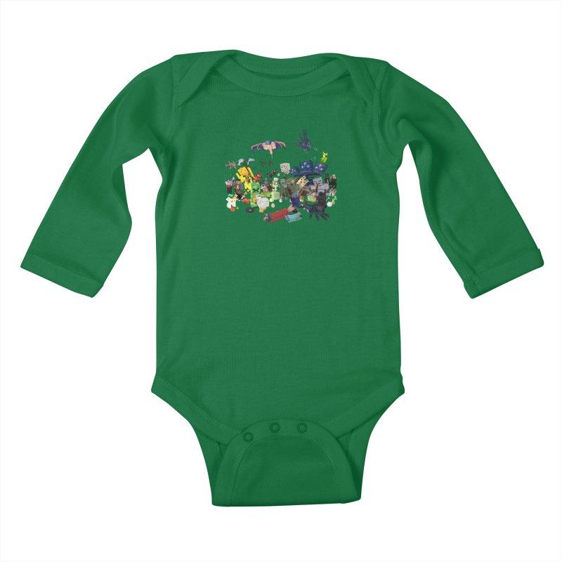 PureBDcraft family Kids Baby Longsleeve Bodysuit by BDcraft Shop