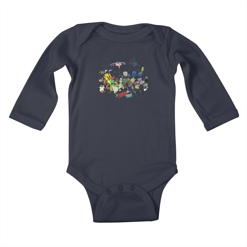 PureBDcraft family Kids Baby Longsleeve Bodysuit by BDcraft Shop