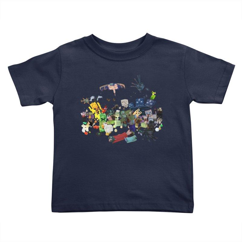 PureBDcraft family Kids Toddler T-Shirt by BDcraft Shop