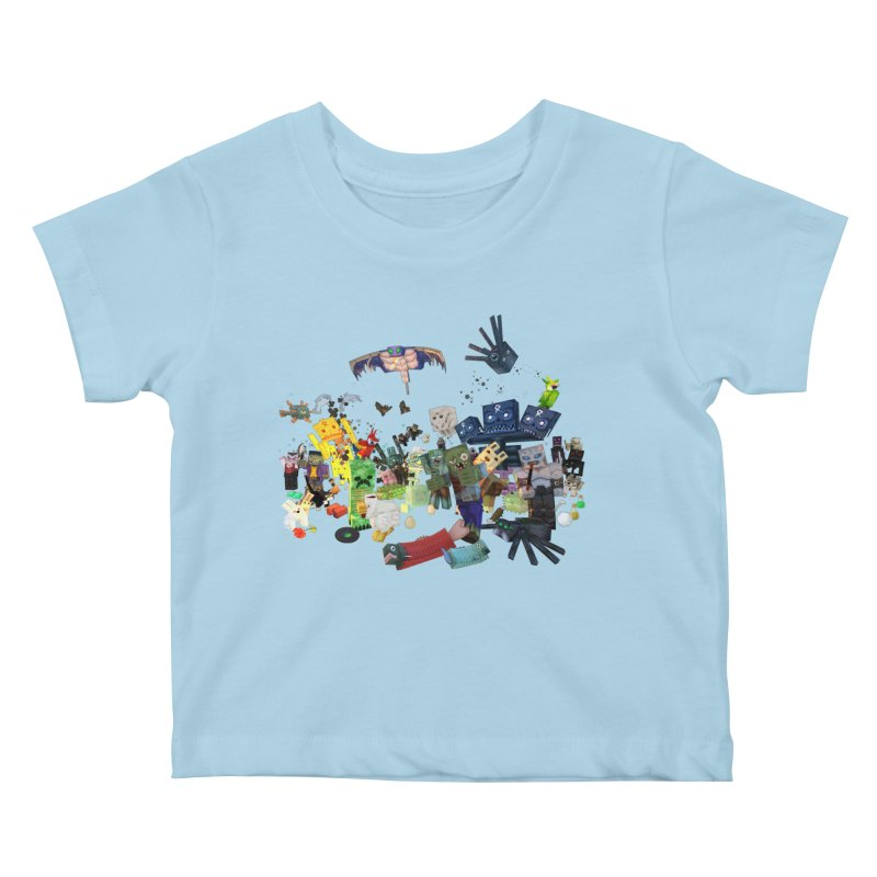 PureBDcraft family Kids Baby T-Shirt by BDcraft Shop