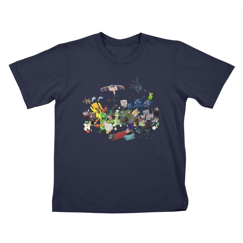 PureBDcraft family Kids T-Shirt by BDcraft Shop