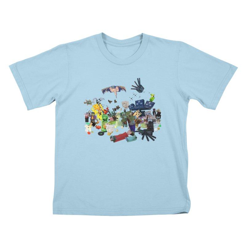 PureBDcraft family Kids T-Shirt by BDcraft Shop