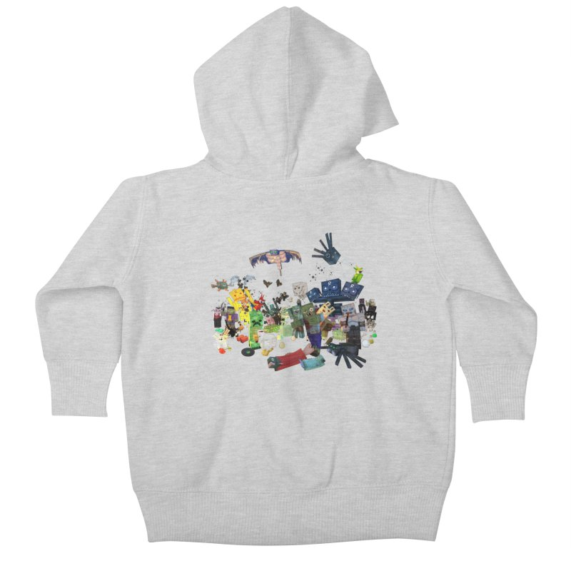 PureBDcraft family Kids Baby Zip-Up Hoody by BDcraft Shop