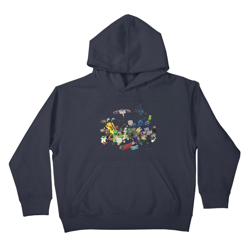 PureBDcraft family Kids Pullover Hoody by BDcraft Shop