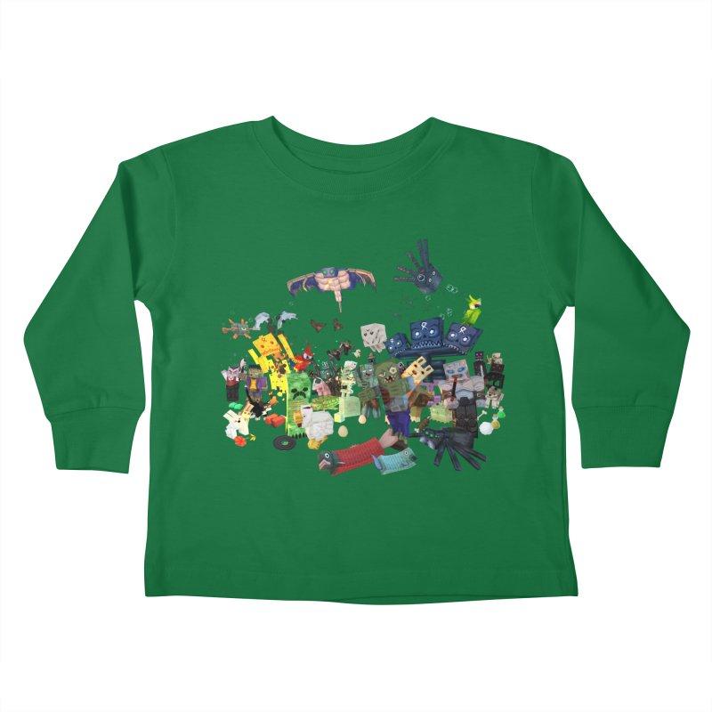 PureBDcraft family Kids Toddler Longsleeve T-Shirt by BDcraft Shop