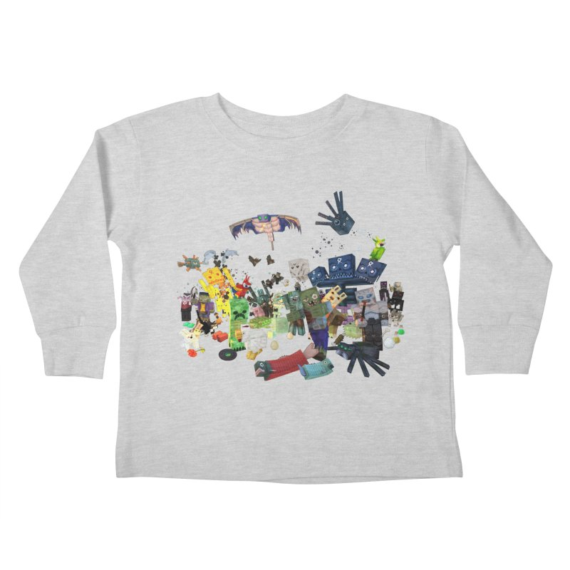 PureBDcraft family Kids Toddler Longsleeve T-Shirt by BDcraft Shop