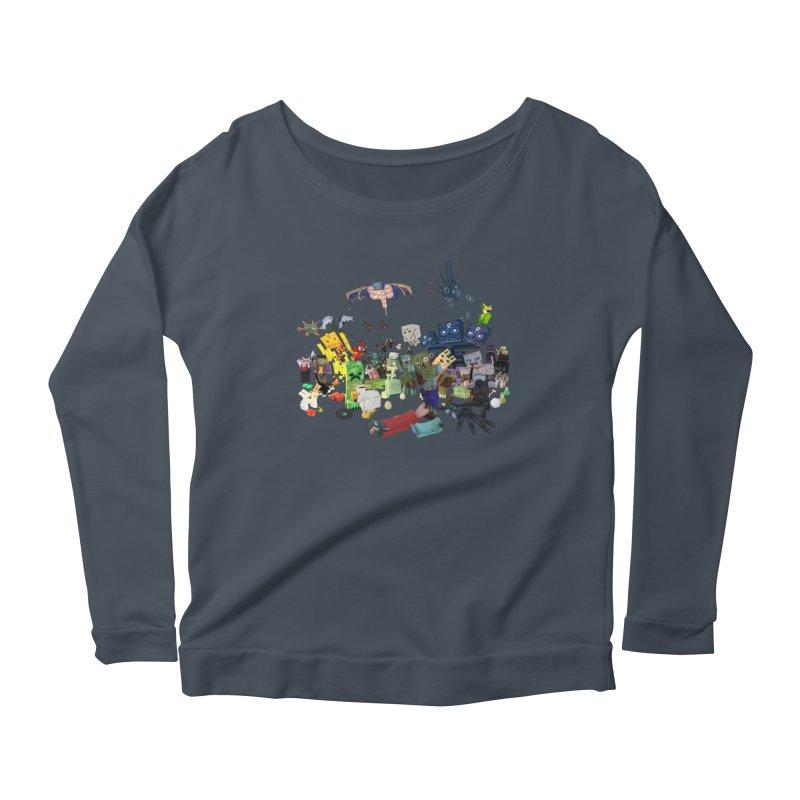 PureBDcraft family Women's Scoop Neck Longsleeve T-Shirt by BDcraft Shop
