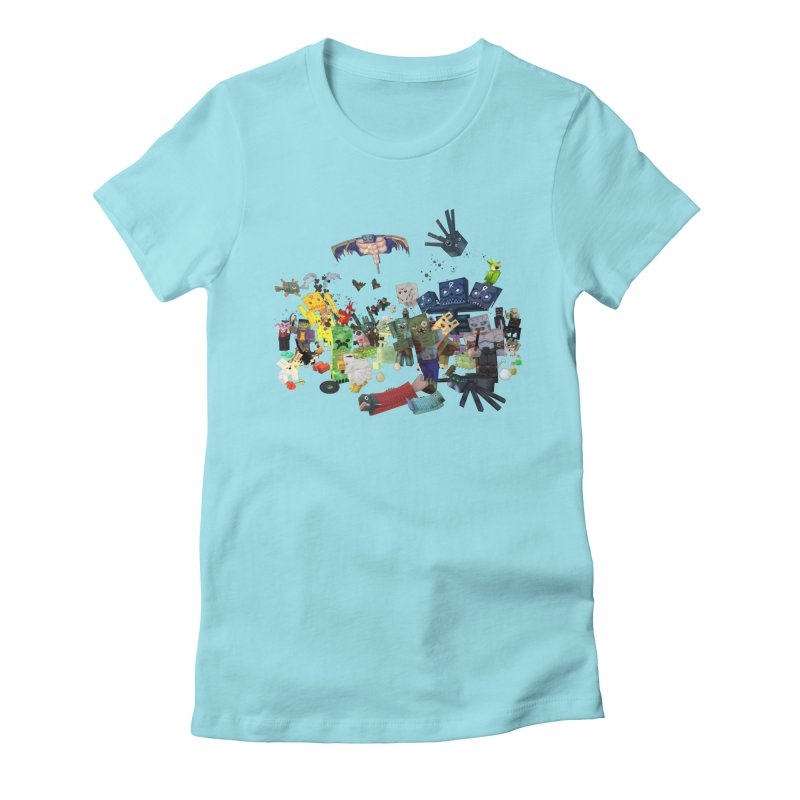 PureBDcraft family Women's Fitted T-Shirt by BDcraft Shop