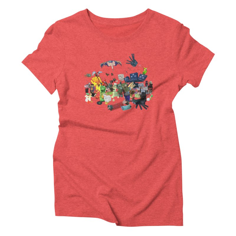 PureBDcraft family Women's Triblend T-Shirt by BDcraft Shop
