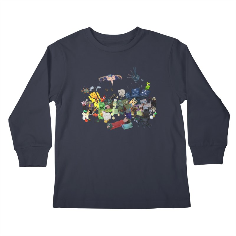 PureBDcraft family Kids Longsleeve T-Shirt by BDcraft Shop