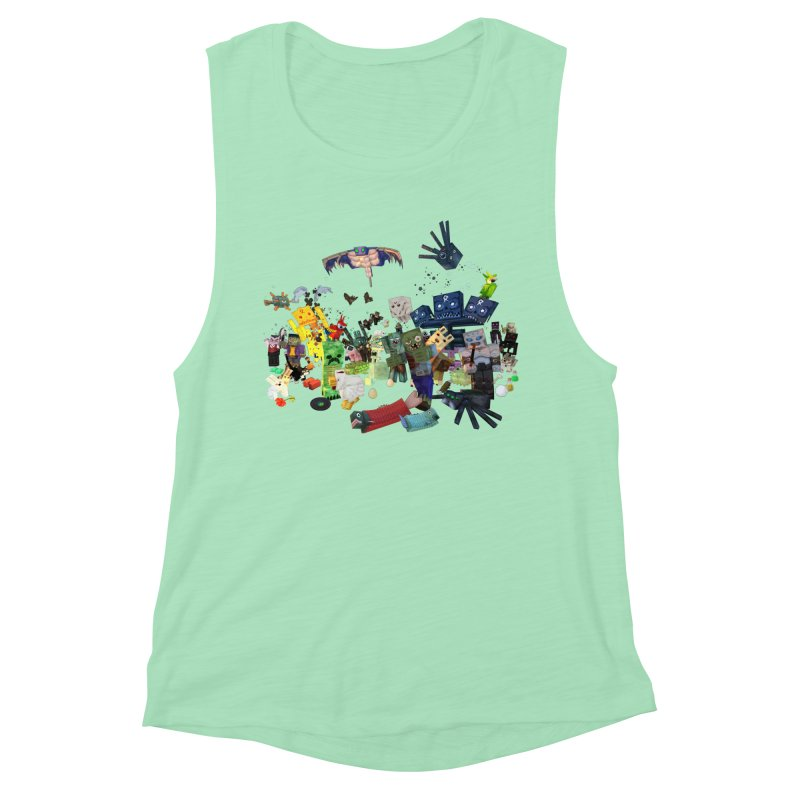 PureBDcraft family Women's Muscle Tank by BDcraft Shop