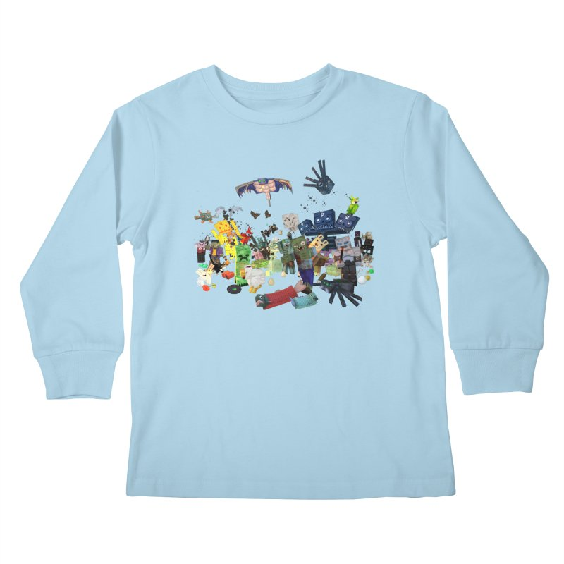 PureBDcraft family Kids Longsleeve T-Shirt by BDcraft Shop