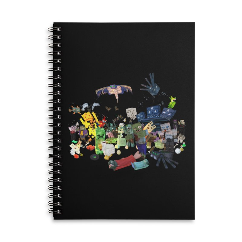 PureBDcraft family Accessories Lined Spiral Notebook by BDcraft Shop