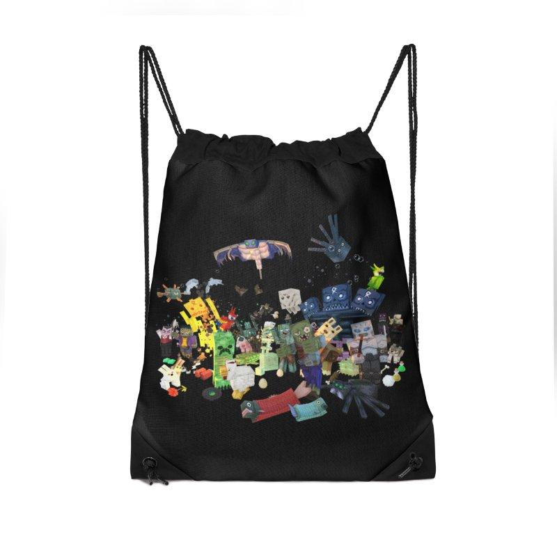 PureBDcraft family Accessories Drawstring Bag Bag by BDcraft Shop
